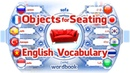 Lesson: Objects For Seating | Learn English Vocabulary With Pictures | Word Book