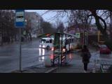 ДТП на Комсомольском спуске. Таганрог. 1 декабря.