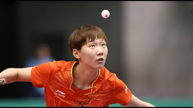 TABLE TENNIS SATO Hitomi(佐藤瞳) - WANG Manyu(王曼昱) Amazing Points BEST POINTS 2018