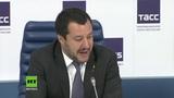 Italiens Innenminister Salvini droht mit Veto bei EU-Sanktionen gegen Russland
