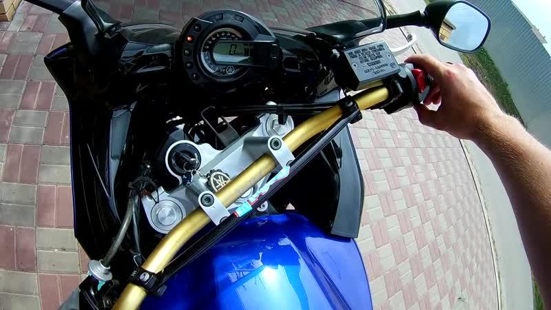 Yamaha TDM. Мотоциклы из Европы. Видео с места прибытия к клиенту.