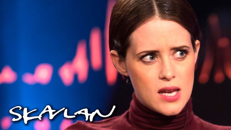 The Crown star Claire Foy on battle with anxiety – Anything can cause it | SVTTV 2Skavlan