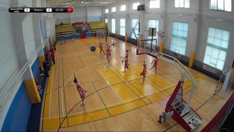 Баскетбол Прямой эфир Шахты ЮРГПУ НПИ Шахты Юность Пензенская область