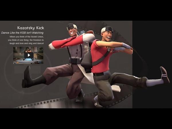 TF2 All Kazotsky Kick Animations