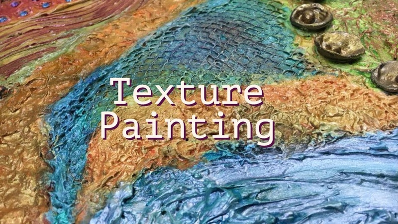 Easy abstract texture painting|Mixed media painting|Speed painting|Texture making techniques|canvas