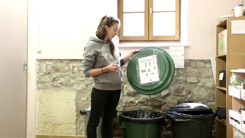 Garbage Separation in Hridaya Yoga France