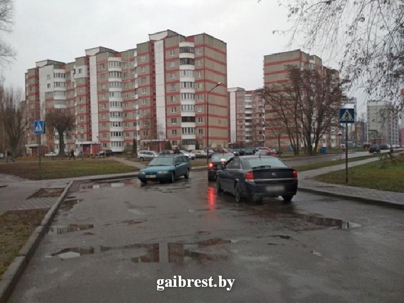 В Бресте на ул. Суворова водитель на «ДЭУ» совершил наезд на 14-летнего пешехода