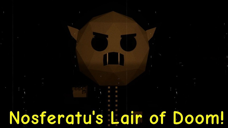 Nosferatus Lair of Doom! Full Game All Endings Playthrough Gameplay