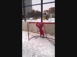 Мария Васильевна на коньках!