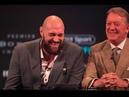 Tyson Fury Disses Wilder's Poor Ticket Sales.