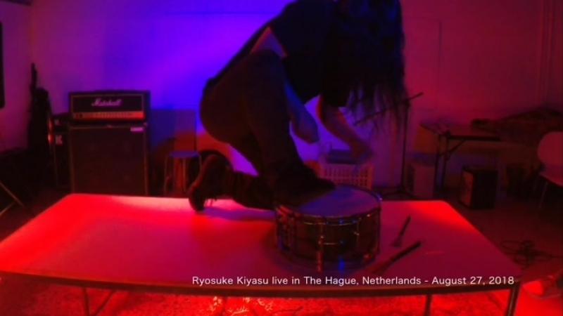 Ryosuke Kiyasu live in The Hague Netherlands August 27 2018