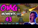 Mobile Legends OMG Moments 43 FUNNY MOMENTS AND EPIC FAIL 300IQ