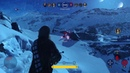Star Wars Battlefront™ - Jyn, Chewie and Lando gameplay Heroes vs Villains