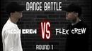 MEOW CREW VS FLEX CREW Dance Battle For Fun