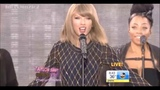Taylor Swift - Out Of The Woods live on GMA Time Square