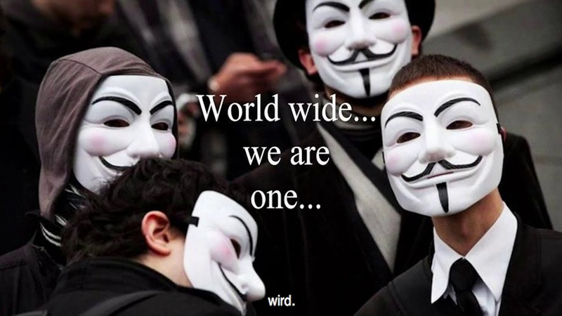 Anonymous ACHTUNG WAS DU DENKST UND MACHST