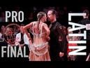 Winners Riccardo Cocchi Yulia Zagoruychenko United States Dancesport championships Latin Final