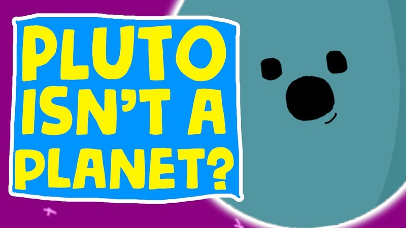 THE PLANETS FIND OUT PLUTO ISN'T A PLANET animation