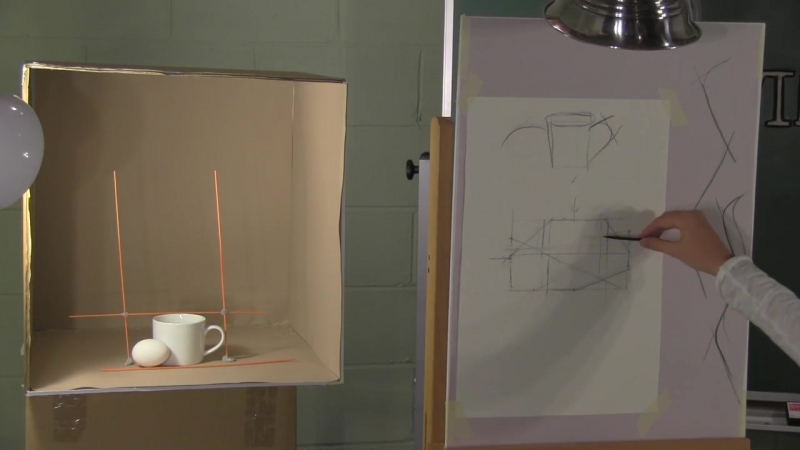 Davinci Initiative - Introduction to Advanced Observational Drawing - Defining Curves with Lines