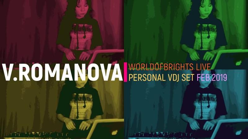 Victoria Romanova - Live in WorldOfBrights Pro-Zone (Feb. 2019)