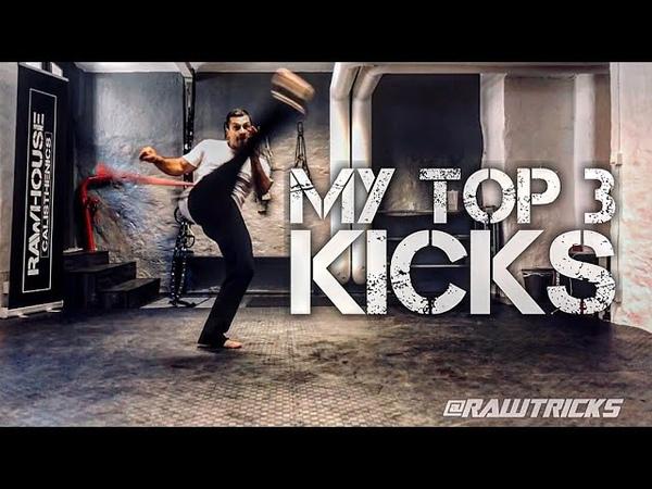 My Top 3 Capoeira Kicks