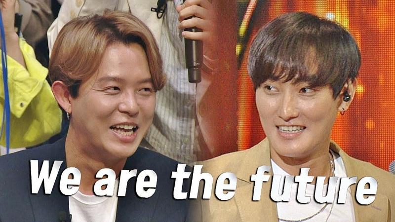 18 июн. 2018 г.[미공개] 토니안(Tony An)x강타(KANGTA)의 녹슬지 않은 댄스 We are the future♪ 히든싱어5(hidden singer5) 1