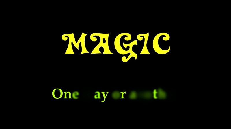 рок кавер группа Magic One way or another
