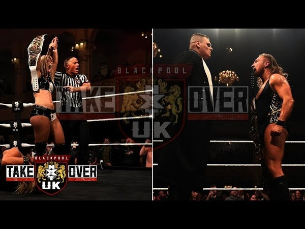 ОБЗОР NXT UK TAKEOVER: BLACKPOOL!
