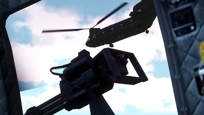 Рядовой вылет — CH-47 — ArmA 3 — Серьёзные Игры на Тушино