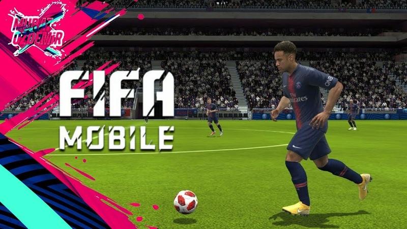Играем в fifa 19 mobile, в режим VS атака.