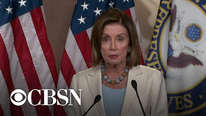 Speaker Pelosi on impeachment Well deal with it