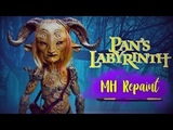 The faun Monster high doll repaint . Pan's Labyrinth inspired doll