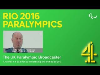 Гимн Паралимпиады в Рио-де-Жанейро (2016), британский Channel 4