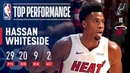 Hassan Whiteside With A Monster Performance 29 Pts 20 Rebs 9 Blks November 7 2018