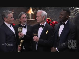 Bill Murray poured tequila on the cast of Greenbookmovie