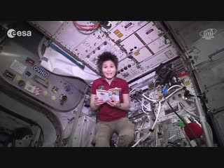 Rhymes from space_ Samantha reads Gianni Rodari (in Russian)
