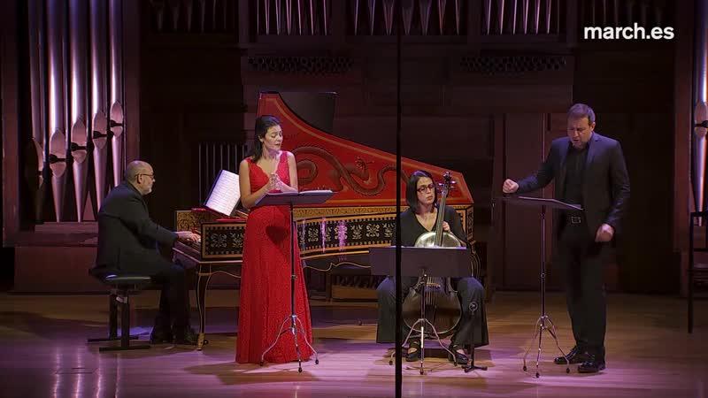 Jaume de la Té y Sagau (1684-1736) - Cantatas - Ana Quintans, Carlos Mena, Ruth Verona, Carlos García-Bernalt 21-11-2018