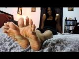 Haleys Feet Gets Tickled