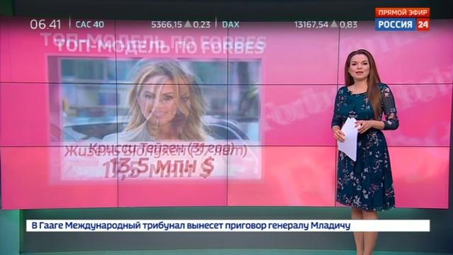 Новости на Россия 24 • Самой высокооплачиваемой моделью года стала американка Кендалл Дженнер
