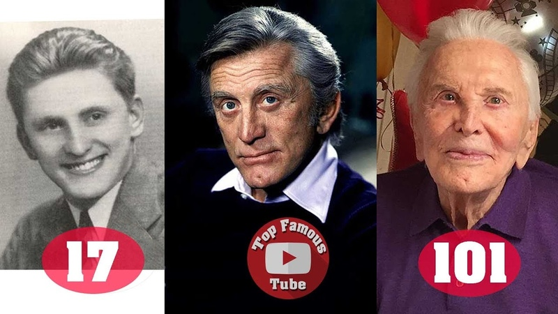 Kirk Douglas | Transformation From 17 To 101 Years Old
