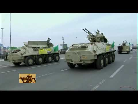 Iranian military showcased heavy armor, ballistic missiles, aircraft at annual Army Day parade