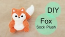 DIY Fox Sock Plush! | Step-by-Step Tutorial