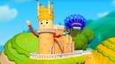 Домики Ласточкино гнездо Обучающий мультфильм для детей Крым