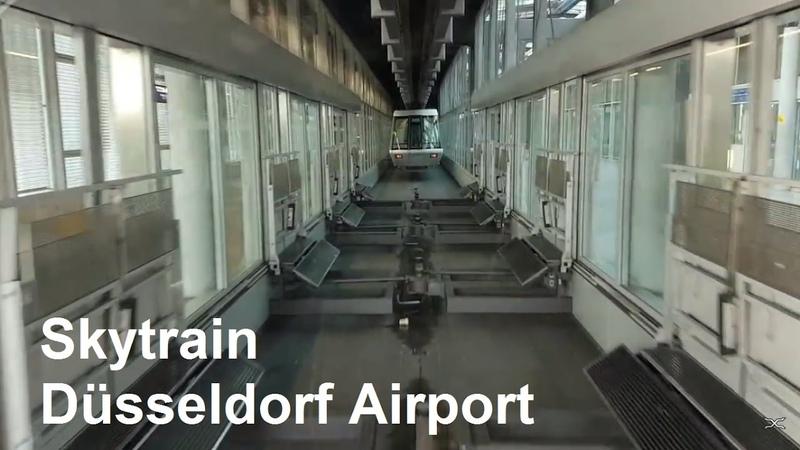 H bahn Düsseldorf Flughafen Skytrain Düsseldorf Airport