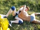 Fight club in the camp Red Mikle VS Serge Classic wrestling Full fight 3 ro
