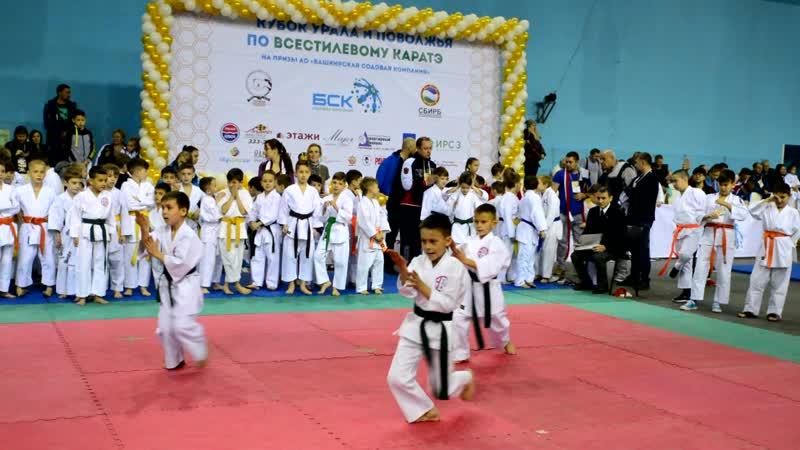 IV Кубок Урала и Поволжья по каратэ WKC