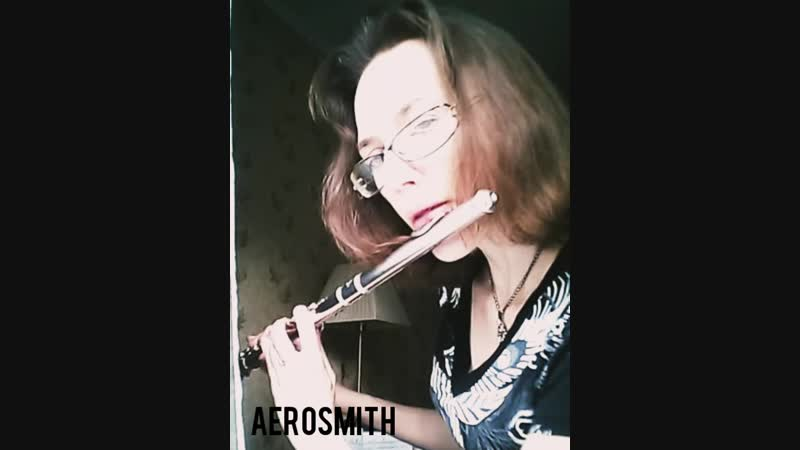 Aerosmith, I don't want to miss a thing theme, флейта.mp4