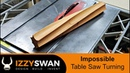 Impossible Table Saw Turning How to Video