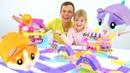 Видео для детей Хомячки и Хома дома Чудо игрушки