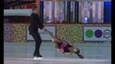 Елена Йованович и Нодар Майсурадзе в шоу Королевы Льда на Красной Площади 11.01москва.19